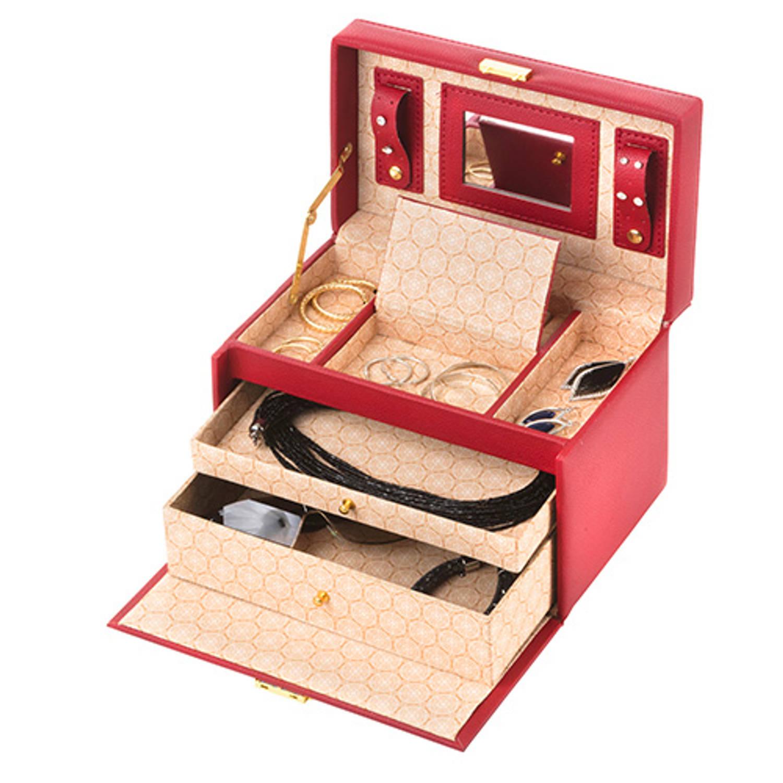 Treasury Sieradendoos - Luxe bijouteriedoos - Classic Rood