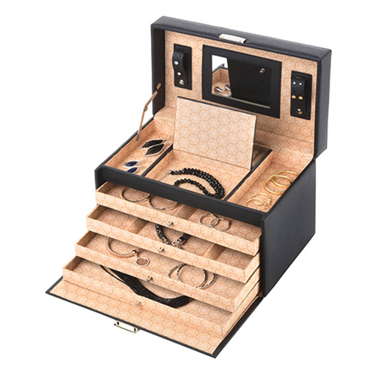 Treasury Sieradendoos - Luxe bijouteriedoos - Classic XL Black