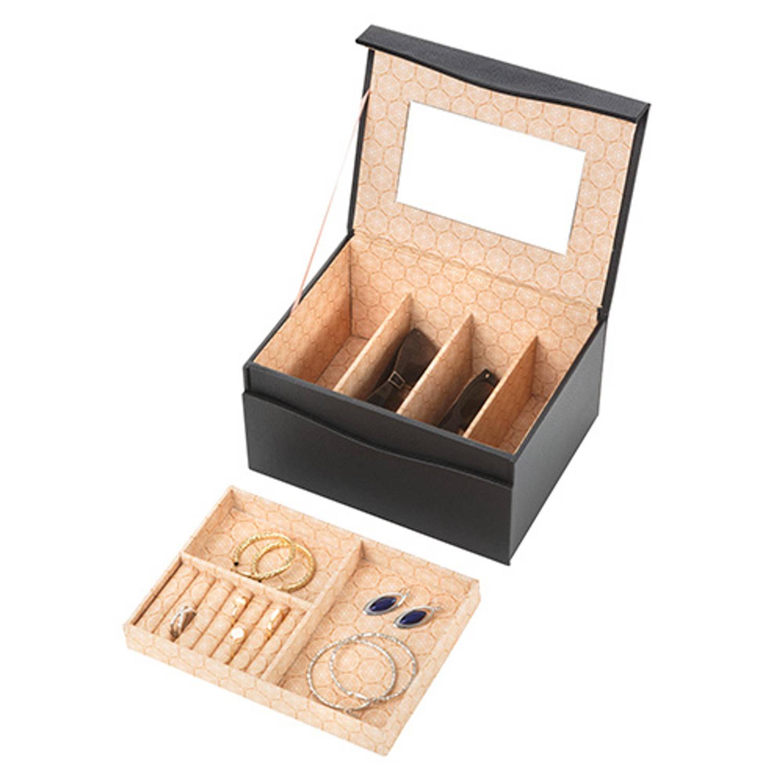 Treasury Sieradendoos - Luxe bijouteriedoos - Magnetic Black