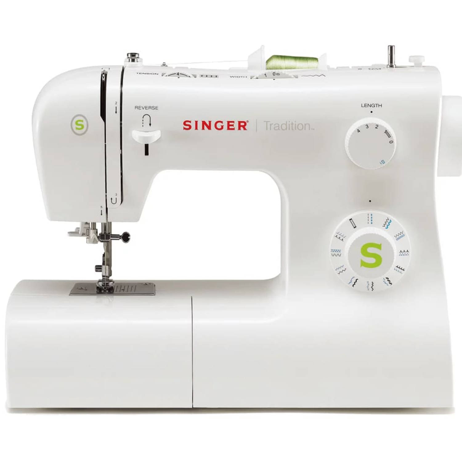 Singer Naaimachine Esteem 2273 wit