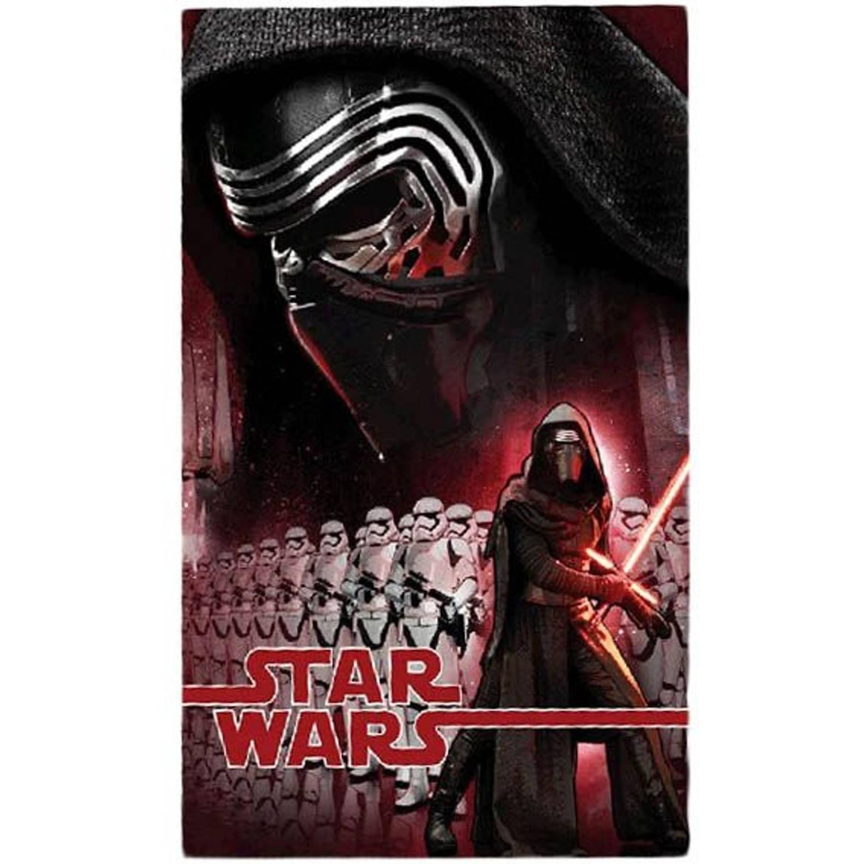 Kamparo fleece-deken Star Wars 150 x 100 cm rood