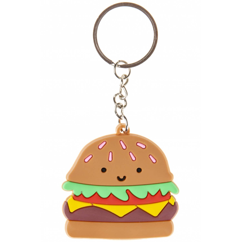 Korting Lg imports Sleutelhanger Hamburger 4,5 Cm Bruin