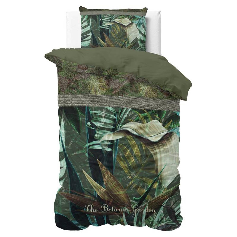 Dreamhouse Bedding Botanic Garden dekbedovertrek - 1-persoons (140x200/220 cm + 1 sloop)