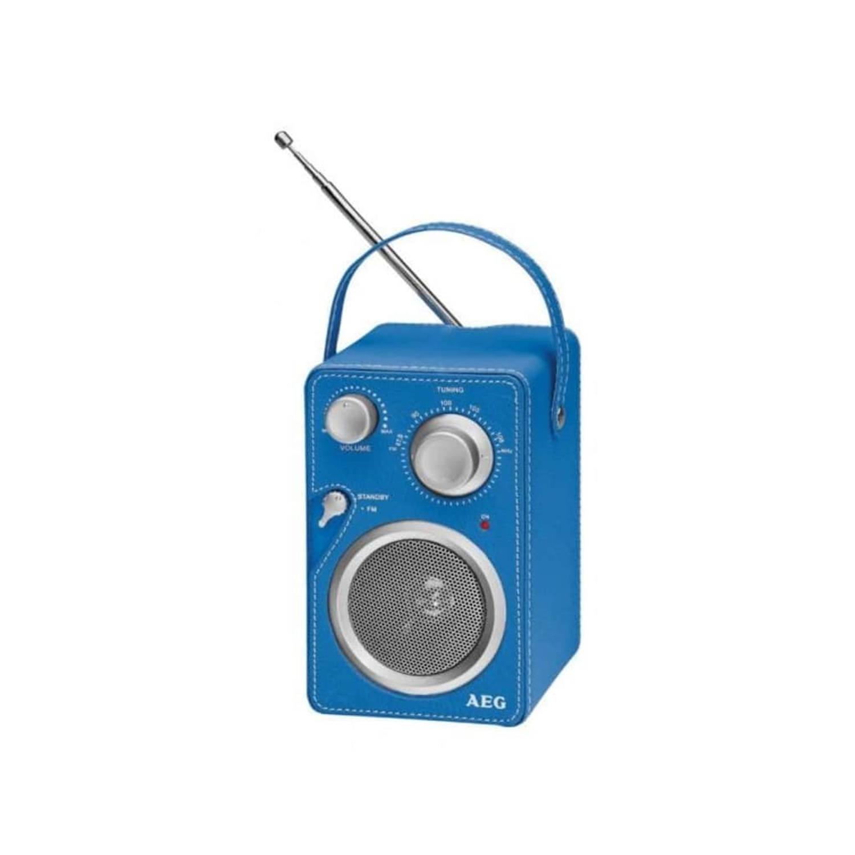 AEG Designradio blauw MR 4144