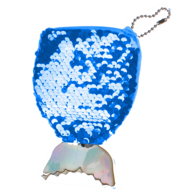 Korting Lg imports Portemonnee Zeemeermin 14 Cm Blauw