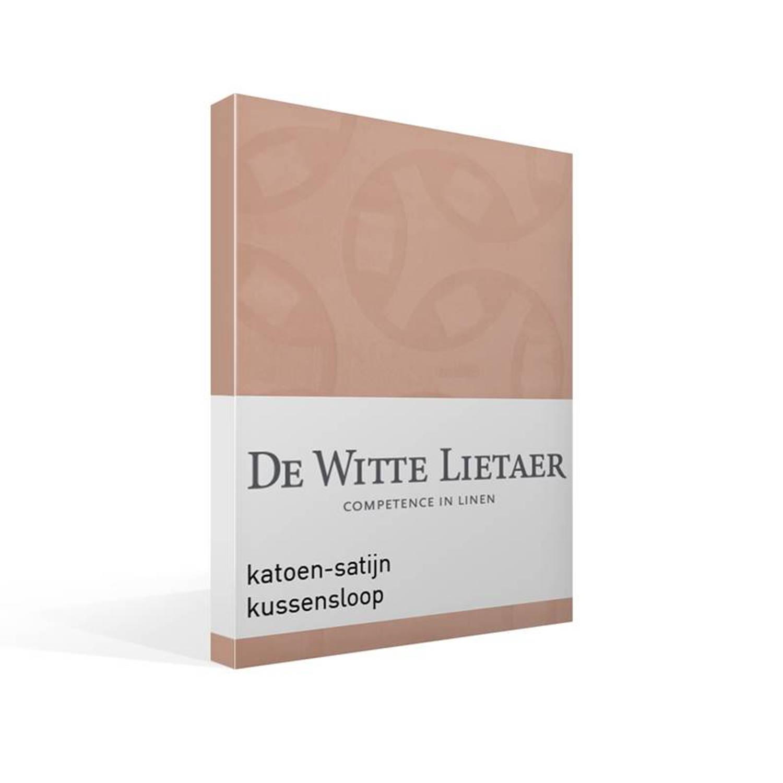 De Witte Lietaer Motion kussensloop - 100% katoen-satijn - 60x60 cm - Roze