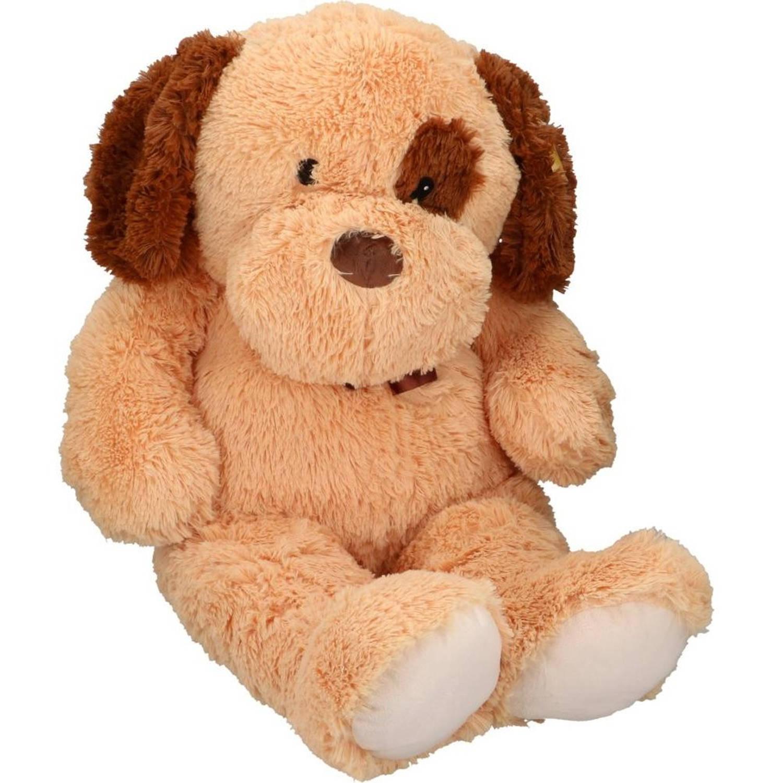 e338da8848270d Grote pluche hond knuffel 100cm   Blokker