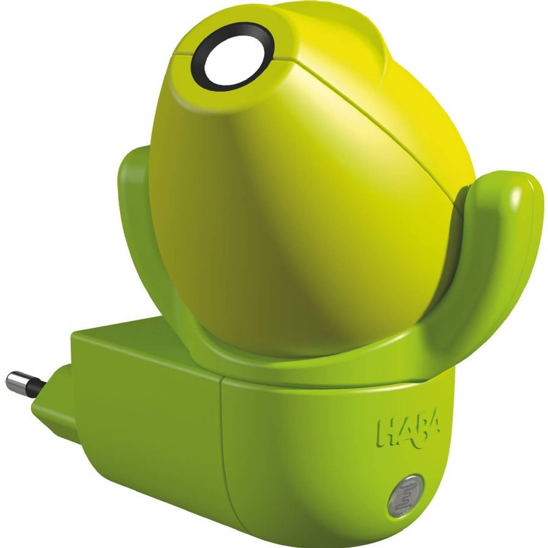 Haba nachtlampje Draken sensor 9 cm groen