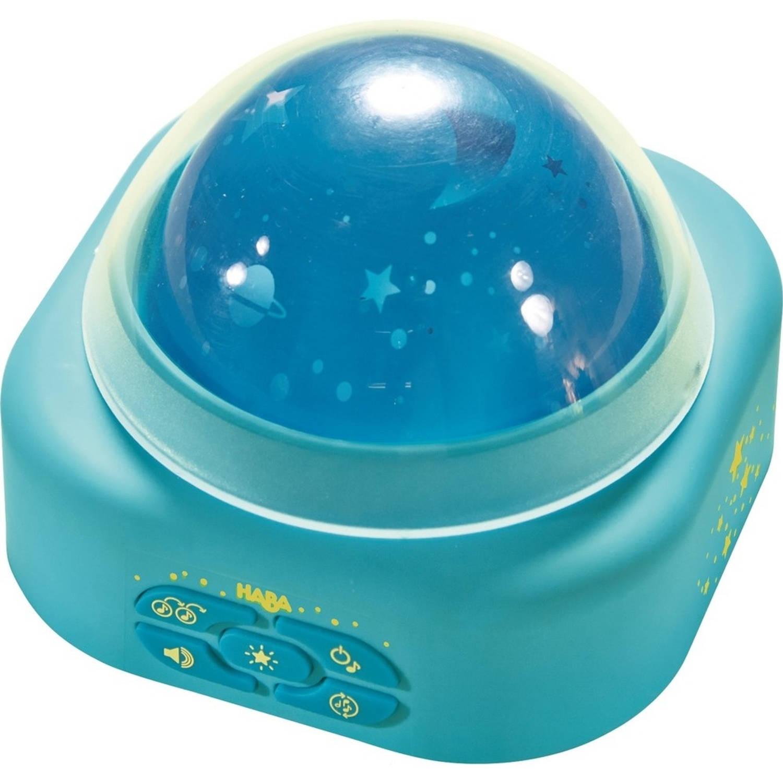 Haba nachtlamp Sterrenhemel 11 cm led blauw