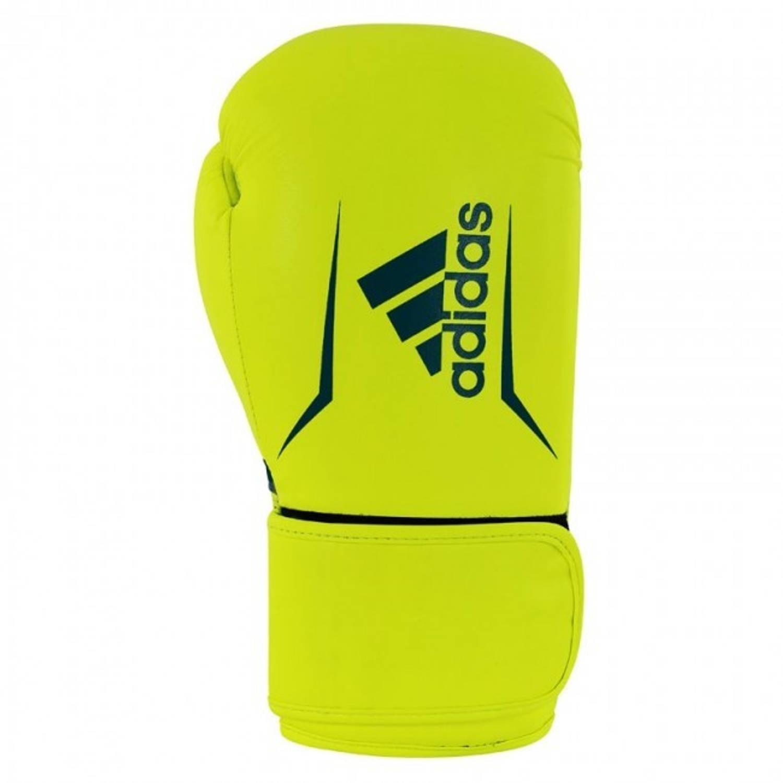 Adidas Speed 100 Bokshandschoenen Geel/blauw - 12 oz