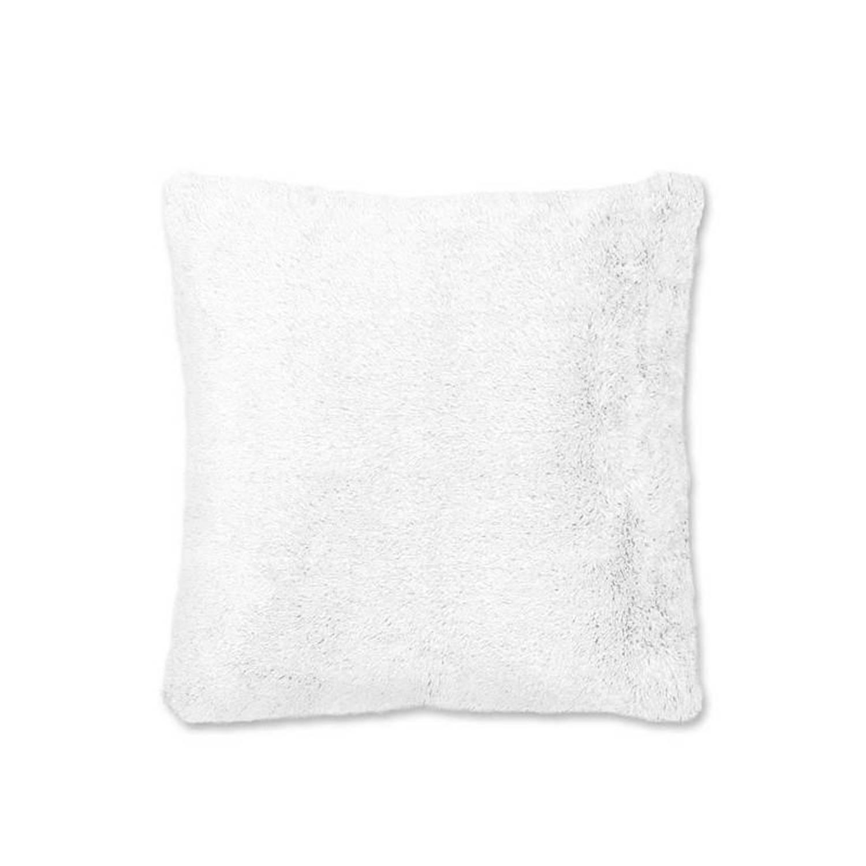 Unique Living Liz sierkussen - 100% polyester - 45x45 cm - Wit