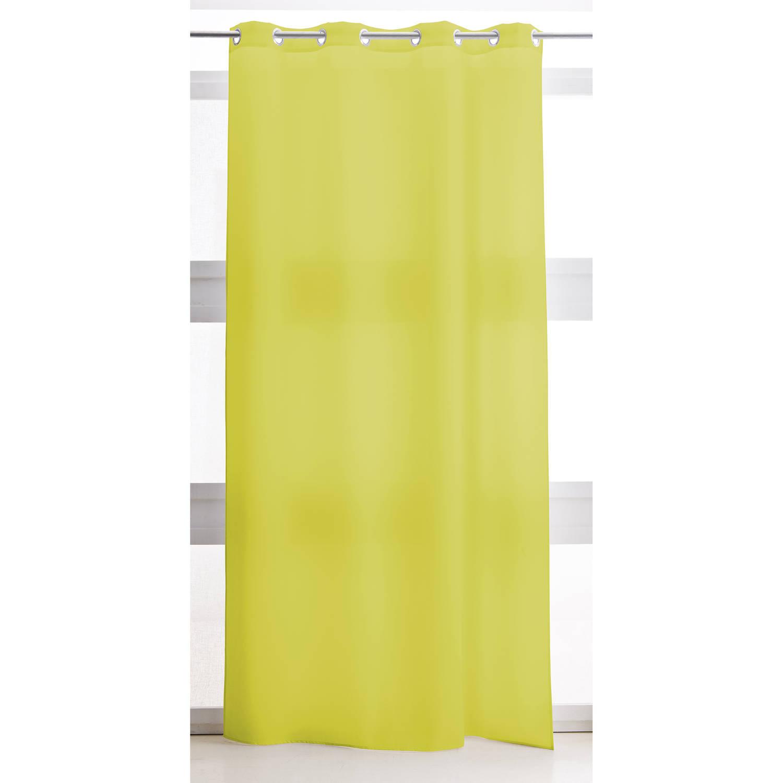Today Kant en Klaar Vitrage Groen - 240 x 135cm