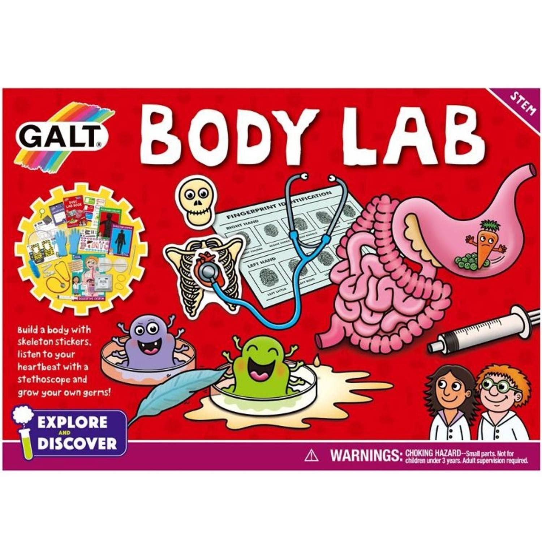 Galt verken en ontdek: Body Lab