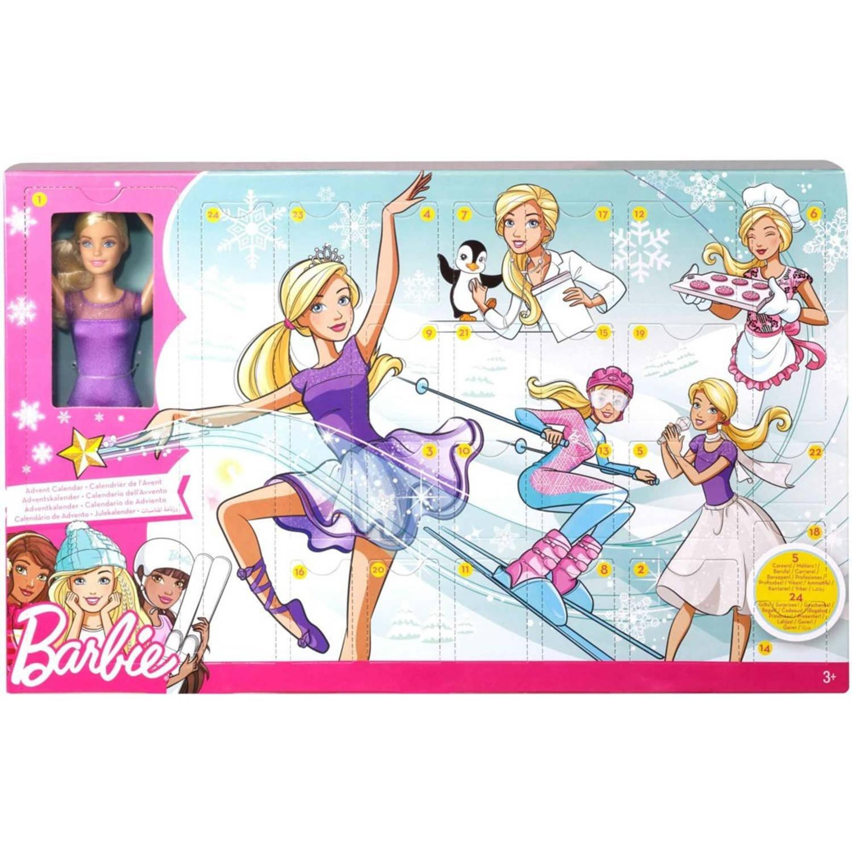 Barbie adventskalender Beroepen meisjes 24-delig