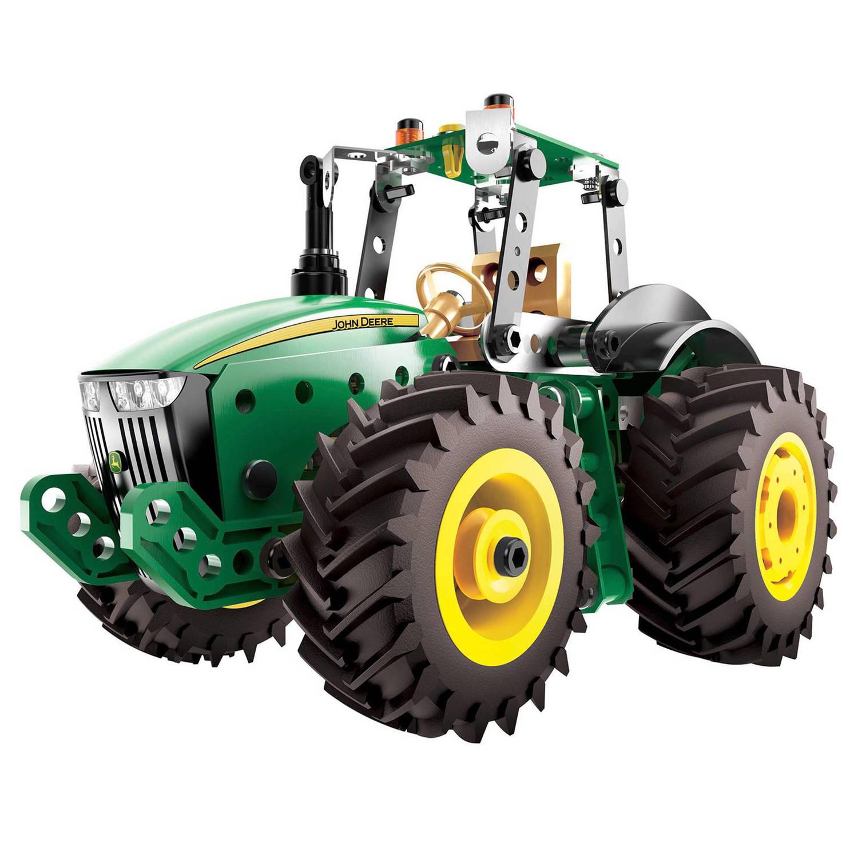 Meccano John Deere tractor groen (17302)