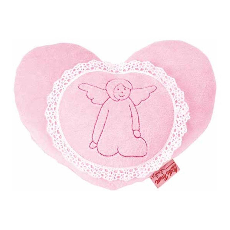 Käthe Kruse warmtekussen hartvormig 20 cm roze