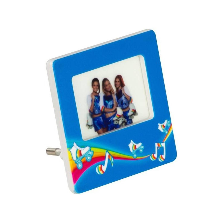 Studio 100 nachtlamp K3 lec-verlichting meisjes 7 cm blauw