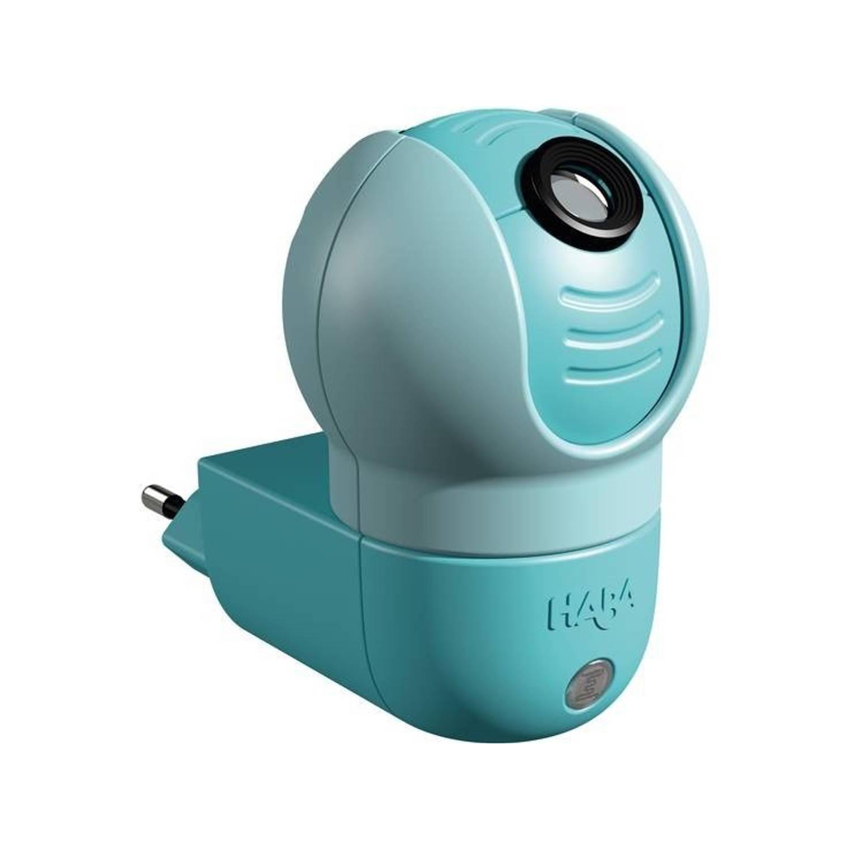 Haba Nachtlampje sensor uil blauw 8 cm