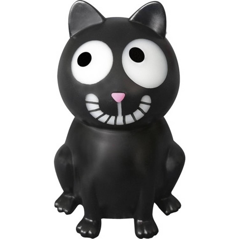 Moses nachtlamp Ed, the Cat 20 cm zwart