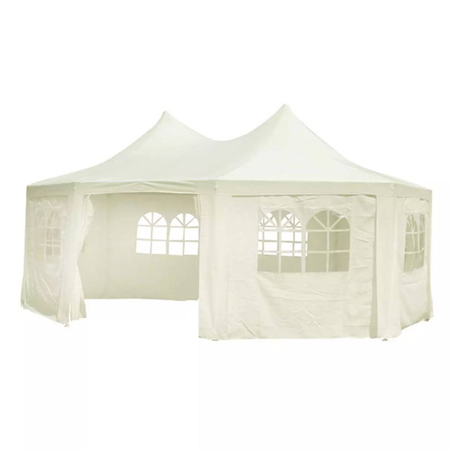 Partytent pagode 6 x 4.4 PE cr