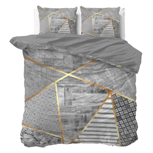 Dreamhouse Bedding Graphic dekbedovertrek - Lits-jumeaux (240x200/220 cm + 2 slopen)