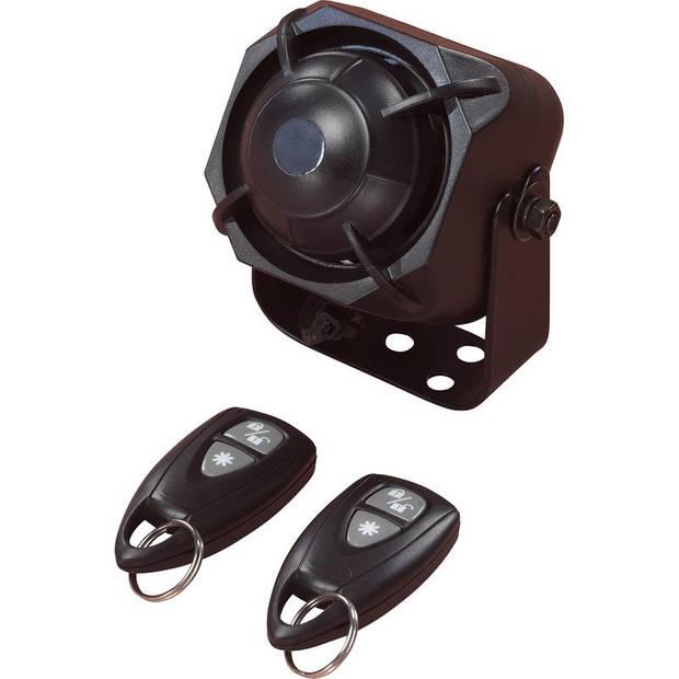 Tesor auto-alarm D-I-Y schoksensor en 2 afstandsbedieningen