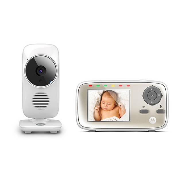 Motorola Babyfoon MBP-483 - met camera
