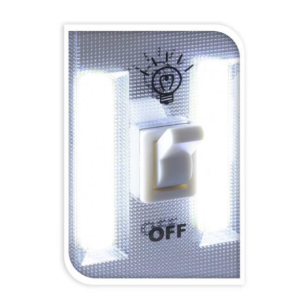 FX Light nachtlampje 11,5 x 7,5 cm wit