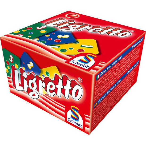 Ligretto rood - kaartspel