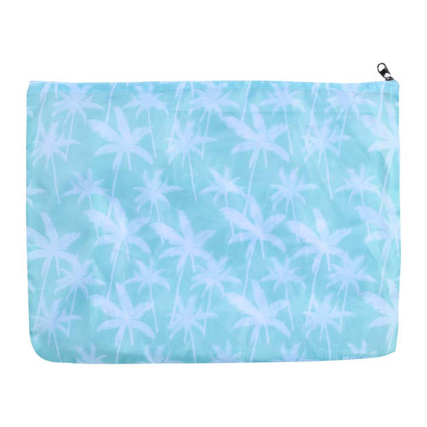 Sundaze koffer organizer - set 3 stuks - palmboom blauw