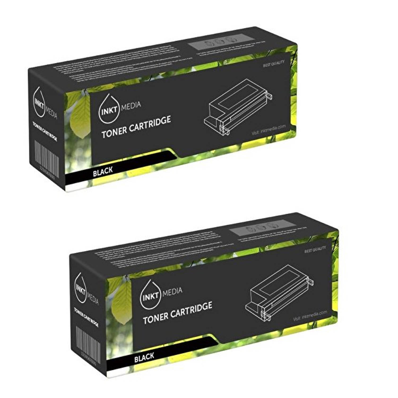 Inktmedia® - Toner cartridge - Alternatief voor de Brother TN-2220 zwart 2x toner