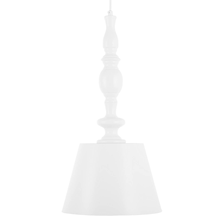 Korting Beliani Fluvia Hanglamp wit metaal