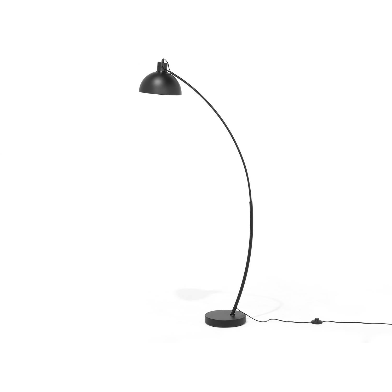 Beliani DINTEL Staande lamp Zwart Metaal