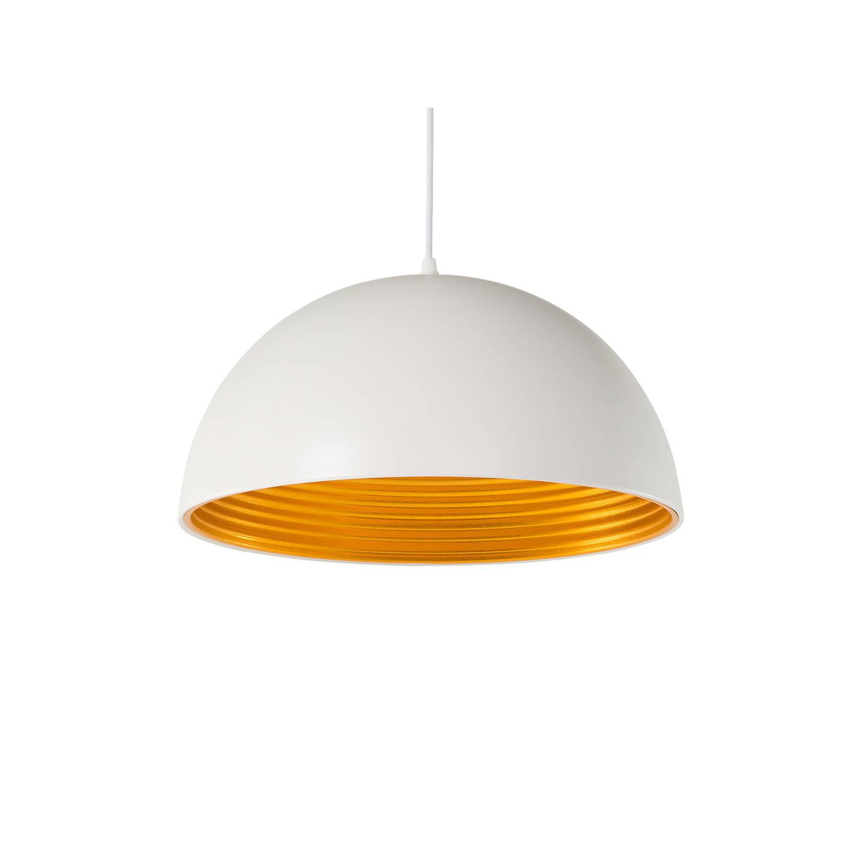 Beliani Grand Hanglamp Wit