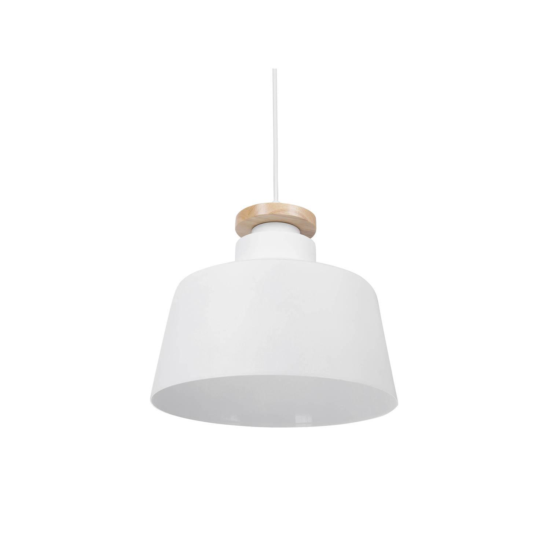 Beliani Danube Hanglamp Wit Aluminium