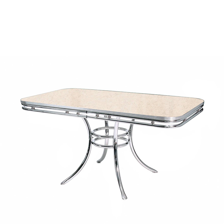 Image of Bel Air Retro Eettafel TO-20 Antique White