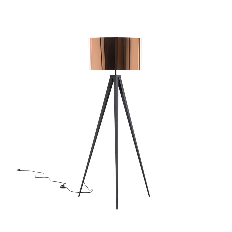 Korting Beliani Stiletto Staande Lamp Metaal 62 X 62 Cm