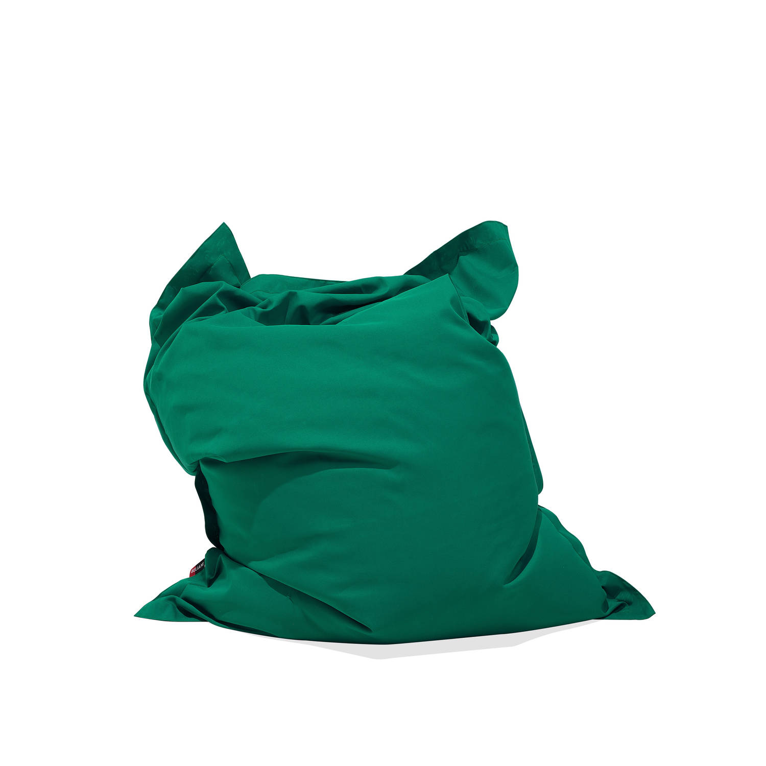 Beliani Bean Bag Big Zitzak Groen 140 x 180 cm