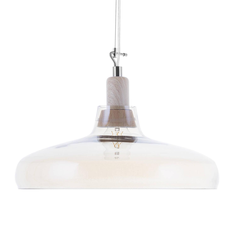 Korting Beliani Alikos Hanglamp Glas 38 X 38 Cm