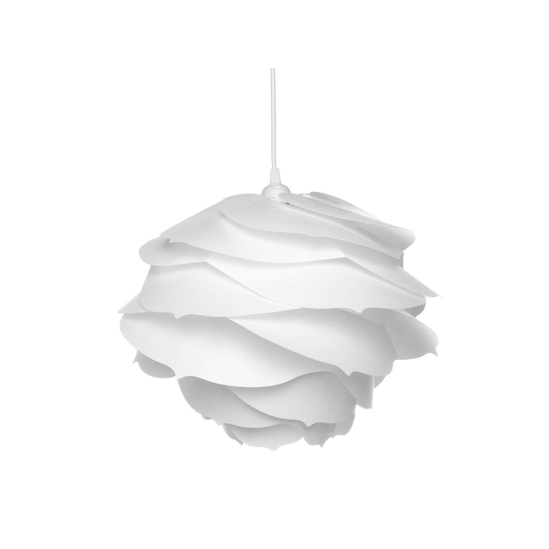 Beliani Nile Hanglamp Wit Kunststof