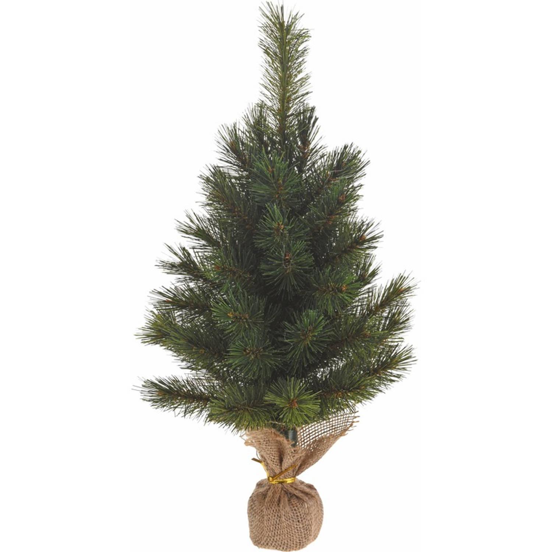 Kerstboom op voet van steen 60