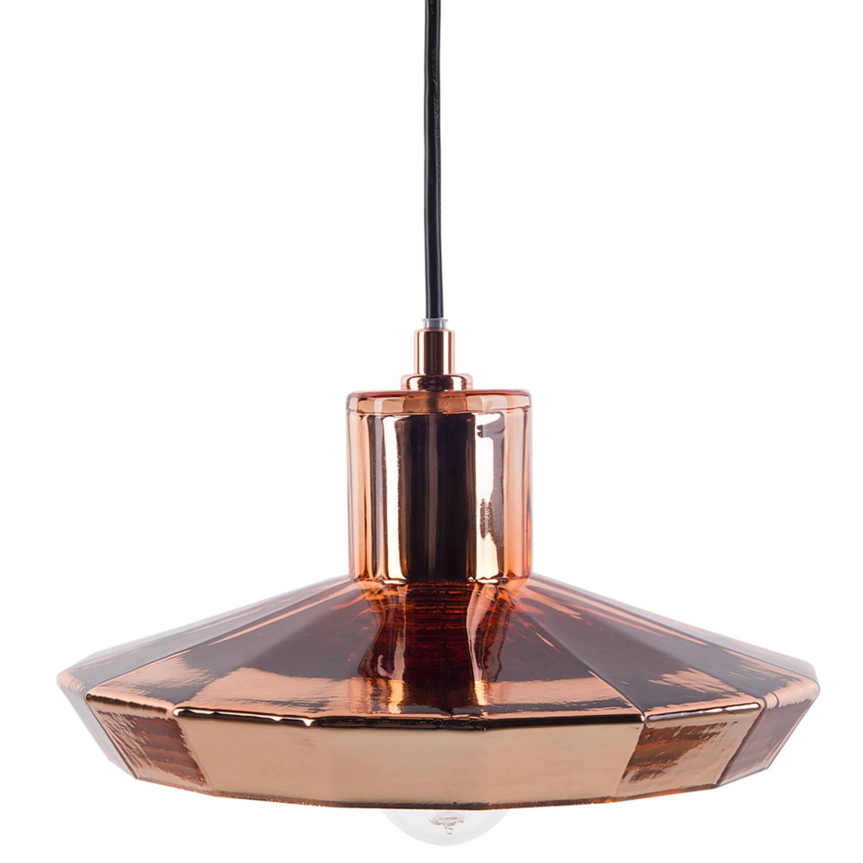 Korting Beliani Amur Hanglamp Glas 23 X 23 Cm