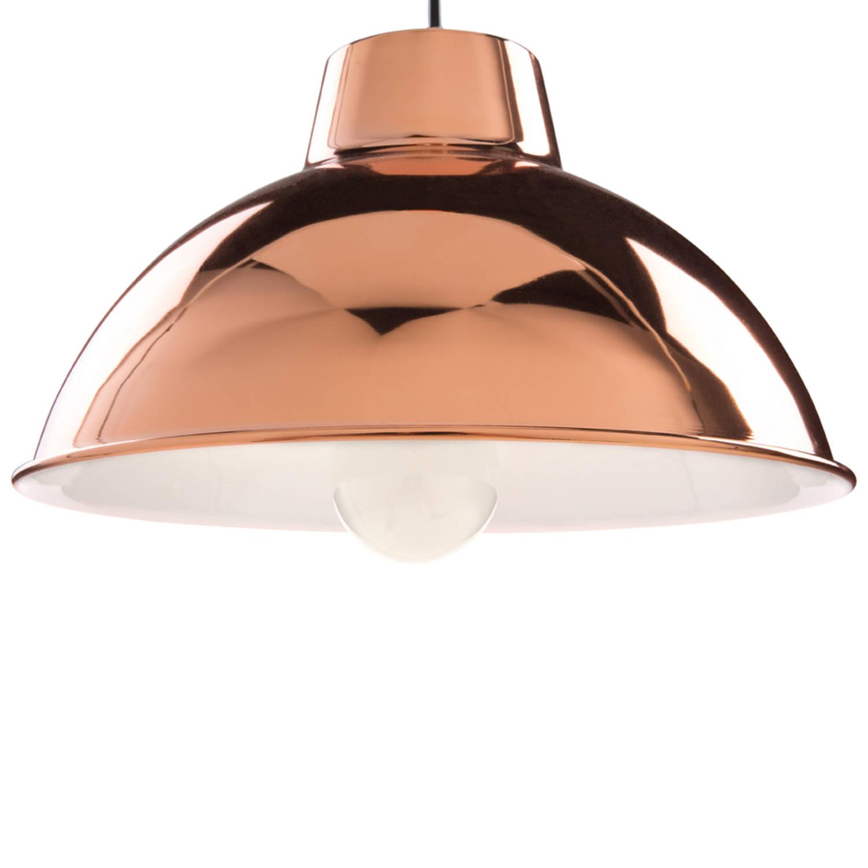 Korting Beliani Gallatin Hanglamp Metaal 31 X 31 Cm