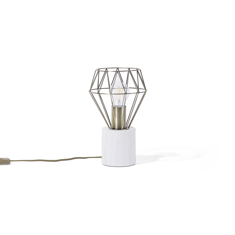Beliani Mooni Tafellamp Goud Metaal
