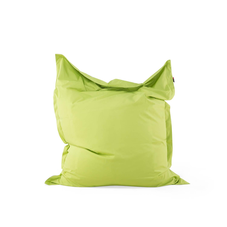 Beliani Bean bag Big Zitzak Groen 140 x 180 cm