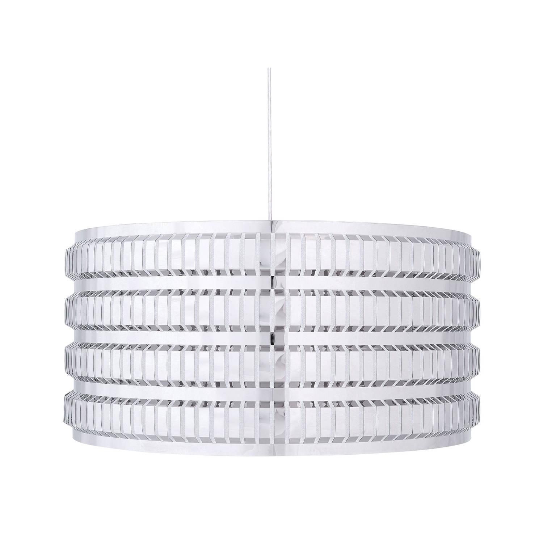Beliani AMUSA Hanglamp Zilver Metaal