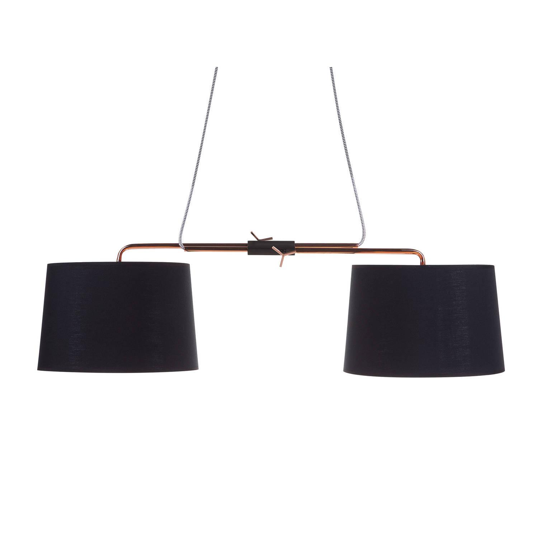 Beliani Fucino Hanglamp Zwart