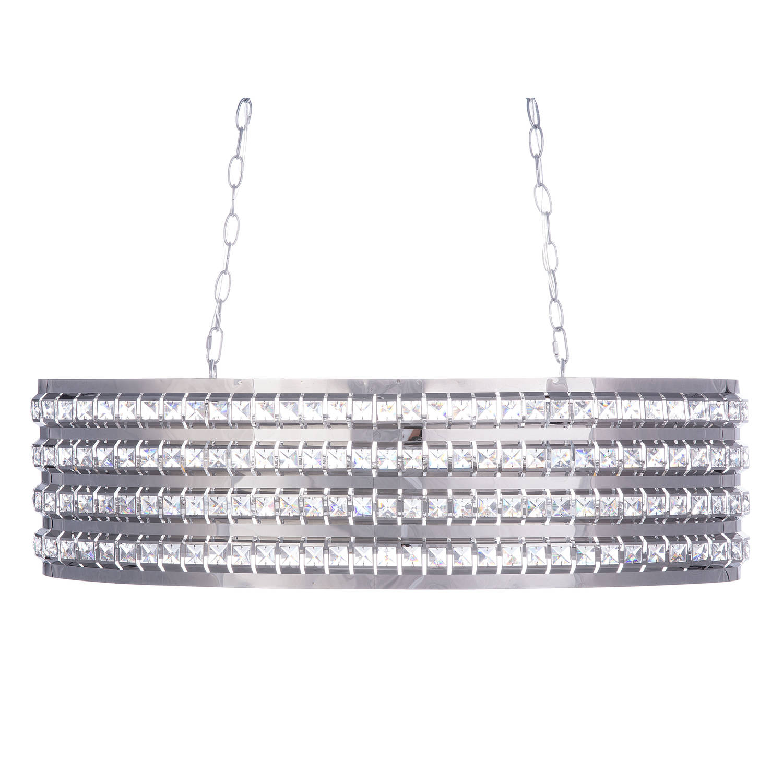 Beliani Cavone Hanglamp Zilver Aluminium