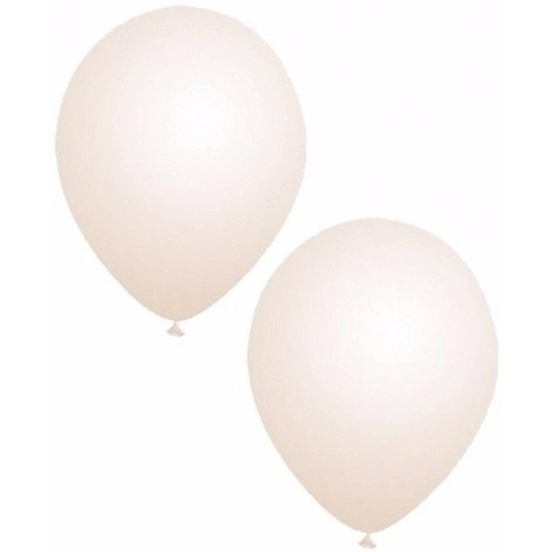 Korting 25x Transparante Party Ballonnen 27 Cm Ballonnen