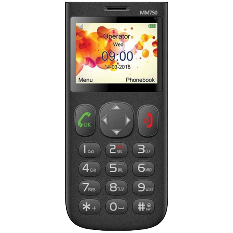Slechtziend Maxcom mm750 met alarmfunctie